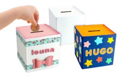 Tirelires en carton blanc - Boîtes – 10doigts.fr
