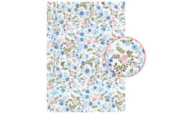 tissu adhésif fleuri