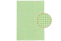 tissu adhésif vichy vert