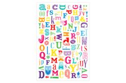 Transferts Alphabet  - Lot de  2 planches - Transferts, décalcomanies – 10doigts.fr