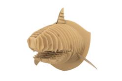Trophée tête de requin à assembler  - Déco murale Trophée – 10doigts.fr