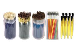 Tubo de pinceaux scolaire - Matériels pour collectivités – 10doigts.fr