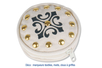 Porte-monnaie en coton écru avec fermeture zippée - Coton, lin – 10doigts.fr