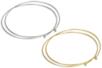Collier tour de cou argenté ou doré - Colliers et chaines – 10doigts.fr