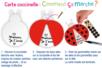 Carte coccinelle mobile - Carterie – 10doigts.fr
