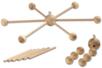 Support en bois à 6 branches pour mobile - Mobile – 10doigts.fr