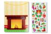 Cartes de Noël +  stickers - Gommettes et stickers Noël – 10doigts.fr