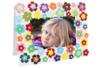 Cabochons nacrés adhésifs - 146 pièces - Stickers strass, cabochons – 10doigts.fr