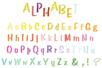 Pochoir Alphabet - Pochoirs Alphabets - 10doigts.fr