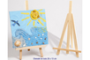 Chevalet en bois 26 x 13 cm - Divers – 10doigts.fr