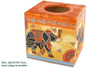 Boîte à mouchoirs cubique, en bois - Boîte à mouchoirs – 10doigts.fr