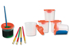 Pots antiverse - Set de 5 - Palettes et rangements – 10doigts.fr