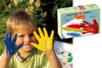 Gouaches aux doigts - 6 pots - Peinture gouache aux doigts – 10doigts.fr