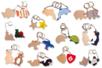 Porte-clefs animaux - Porte-clefs - 10doigts.fr