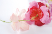 Fleurs en soie synthétique - 150 pièces - Fleurs et feuilles – 10doigts.fr