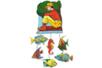Feuille de PVC translucide adhésive (Polyphane) - 33 x 43 cm - Feuilles en plastique – 10doigts.fr