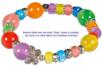 Perles charm's intercalaires argentés - 30 perles - Perles intercalaires & charm's – 10doigts.fr