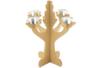 Grand chandelier en bois - Bougeoirs – 10doigts.fr