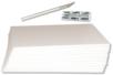 Carton plume blanc 5 mm - 6 planches - Carton Plume et Polystyrène – 10doigts.fr