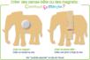 Motifs assortis, en bois naturel - Set de 12 - Motifs brut – 10doigts.fr