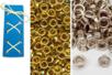Poseur d'œillet + recharge 20 oeillets Offert - Pinces perforatrices – 10doigts.fr