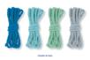 Cordelettes couleurs assorties en camaïeu - Cordes naturelles – 10doigts.fr