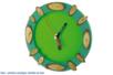 Kit de 3 horloges de bureau - Horloges - 10doigts.fr