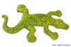 Lézard en papier mâché 17,5 cm - Animaux en papier mâché – 10doigts.fr