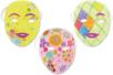 Masques blancs à décorer, qualité supérieure - Mardi gras, carnaval – 10doigts.fr