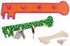Kit Porte-clefs - 12 réalisations - Kits Supports et décorations - 10doigts.fr