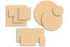 Supports plats en bois médium (MDF) - Supports plats - 10doigts.fr