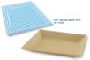 Plateau en carton papier mâché - 22 x 17 cm - Paniers, plateaux en carton – 10doigts.fr