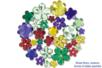 Strass fleurs - 200 pièces - Strass - 10doigts.fr