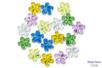 Strass fleurs - 18 pièces - Strass - 10doigts.fr
