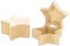 Boite étoile en bois, avec fermeture aimantée - Boîtes et coffrets - 10doigts.fr