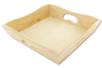 Mini plateau ou Porte-serviettes en bois - Plateaux en bois – 10doigts.fr