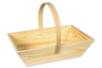 Panier rectangulaire en bois - Corbeilles et paniers – 10doigts.fr