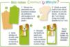 Cigogne en bois naturel - Motifs brut – 10doigts.fr