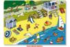 Stickers scène de vie La plage - Gommettes Histoires et décors – 10doigts.fr