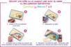 Cartes fortes auto-adhésives double-face - Sable coloré – 10doigts.fr