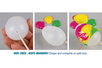 Oeufs en plastique blanc - Oeufs – 10doigts.fr
