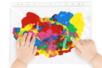 Activité manuelle Montessori Peinture Propre - Tête à Modeler