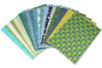 Assortiment de papiers indiens, Kerala - Set de 20 feuilles - Papier artisanal naturel - 10doigts.fr