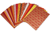 Assortiment de papiers indiens, Mumbai - Set de 20 feuilles - Papier artisanal naturel - 10doigts.fr