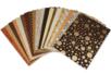 Assortiment de papiers indiens - Rajasthan - Papier artisanal naturel - 10doigts.fr