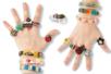 Bagues et bracelets à décorer - Activités enfantines – 10doigts.fr