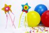 Boutons coeurs multicolores - 200 pièces - Boutons – 10doigts.fr