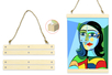 Baguettes magnétiques pour affiche - Cadres photos – 10doigts.fr