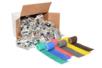 Bandes plâtrées couleurs assorties - Set de 48 - Plâtre – 10doigts.fr
