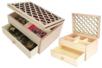 Boite à bijoux ajourée - 5 compartiments et un tiroir - Boîtes et coffrets – 10doigts.fr